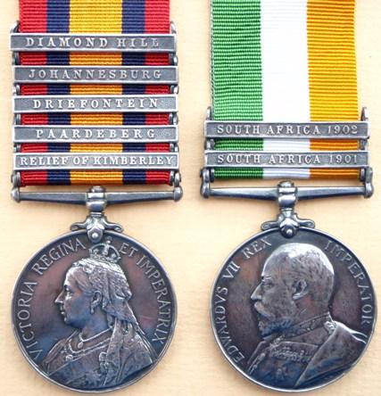 Medals - Pre WW1